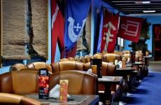 Замок Рын в Польше: ресторан