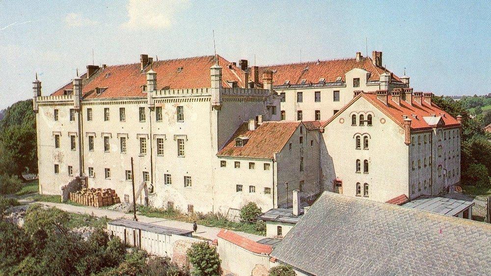 Замок Рын, Польша