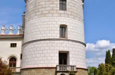 Замок в Красичине в Польше
