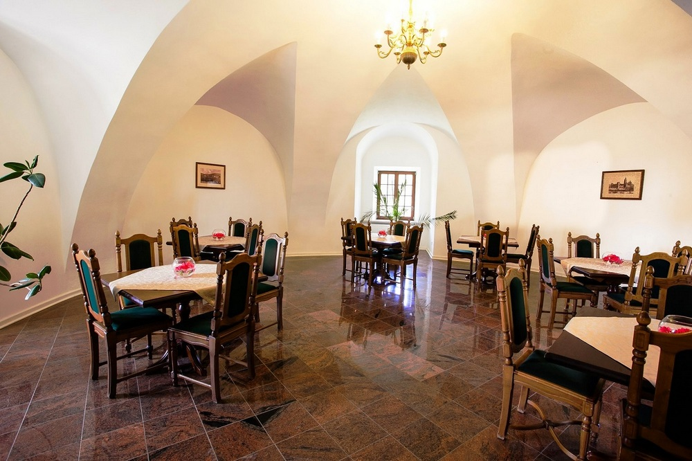 Замок Красицких, внутренние помещения