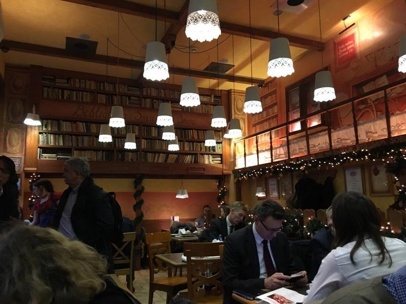 Ресторан сети Zapicek, Варшава