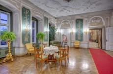 Зеленый зал, замок Ксенж, Польша