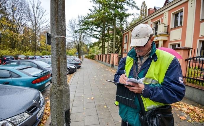 Штрафы за парковку в Польше