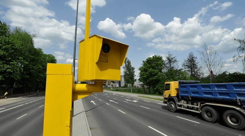 Новые фоторадары на польских дорогах