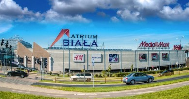 Торговый центр Атриум Бяла в Белостоке ждут большие перемены