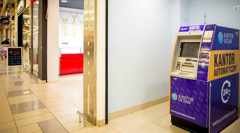 В Белостоке появился первый автоматический обменник