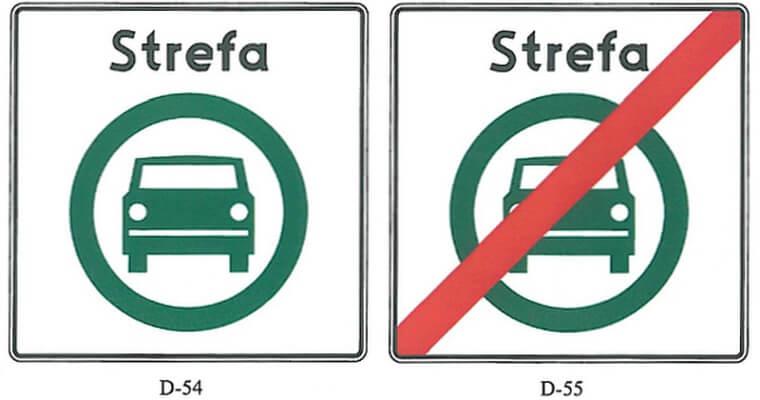 Чистые транспортные районы в Польше