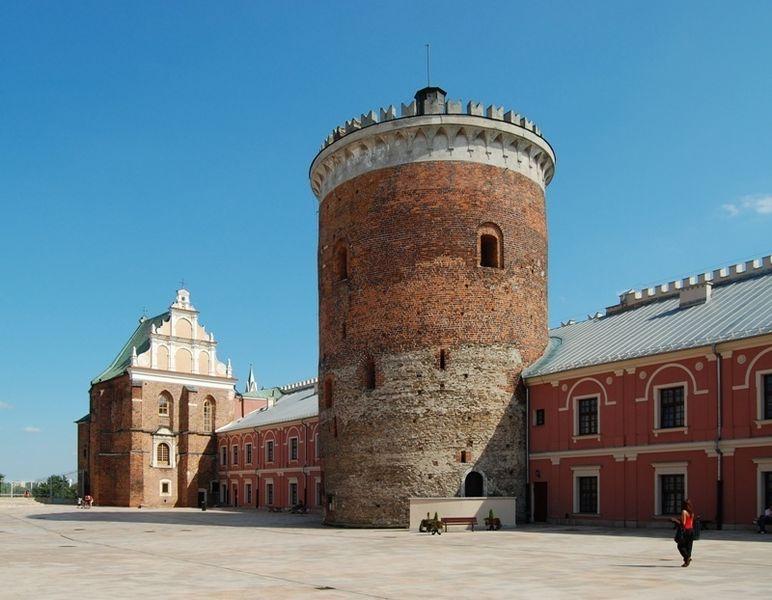 Донжон, Люблинский замок в Польше