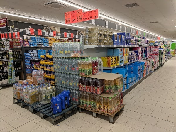 Ассортимент товаров магазина Лидл