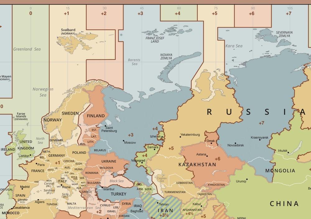 Часовой пояс Польши