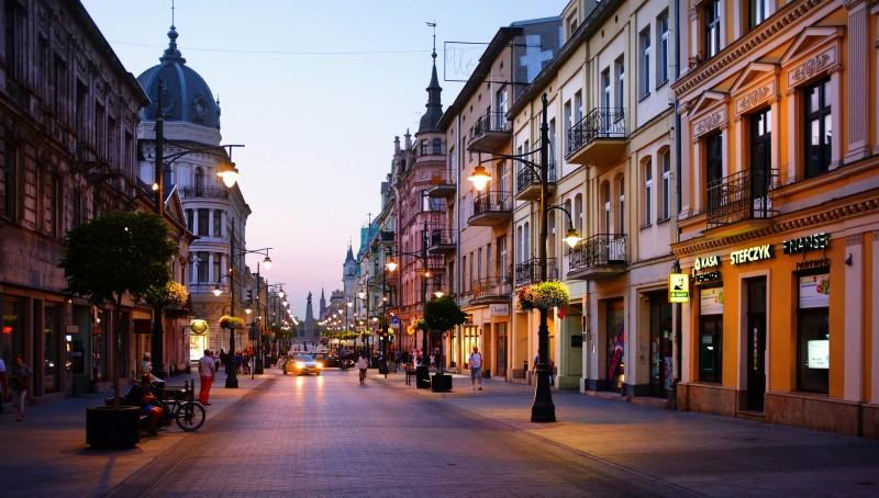 Улица Piotrkowska