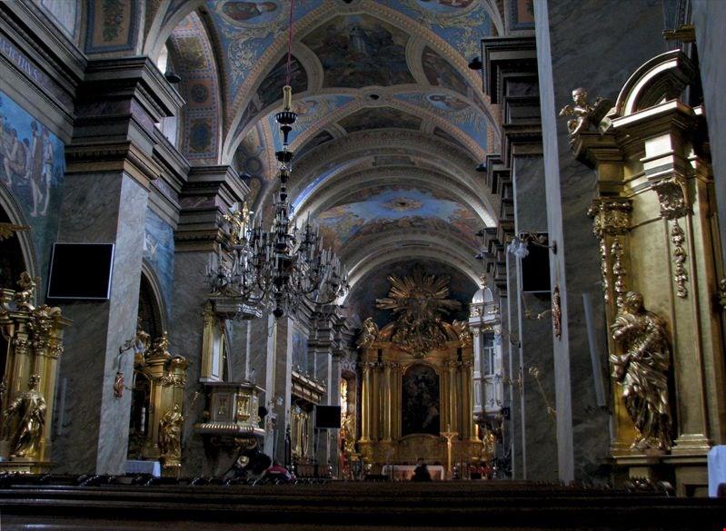 Кельце Церковь Св.Троицы
